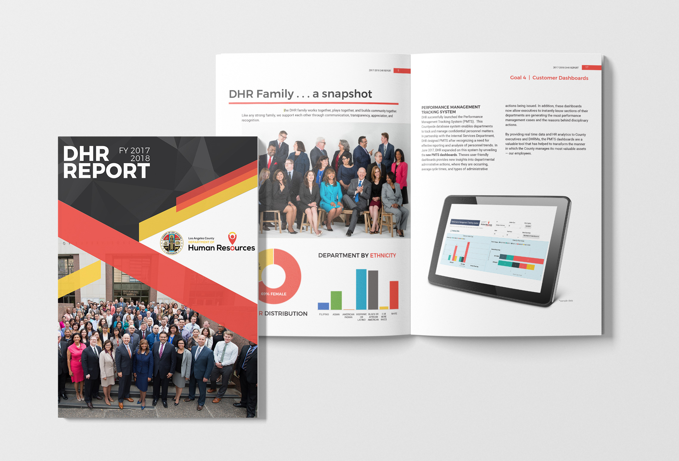 LAC Dept of Human Resources Annual Report